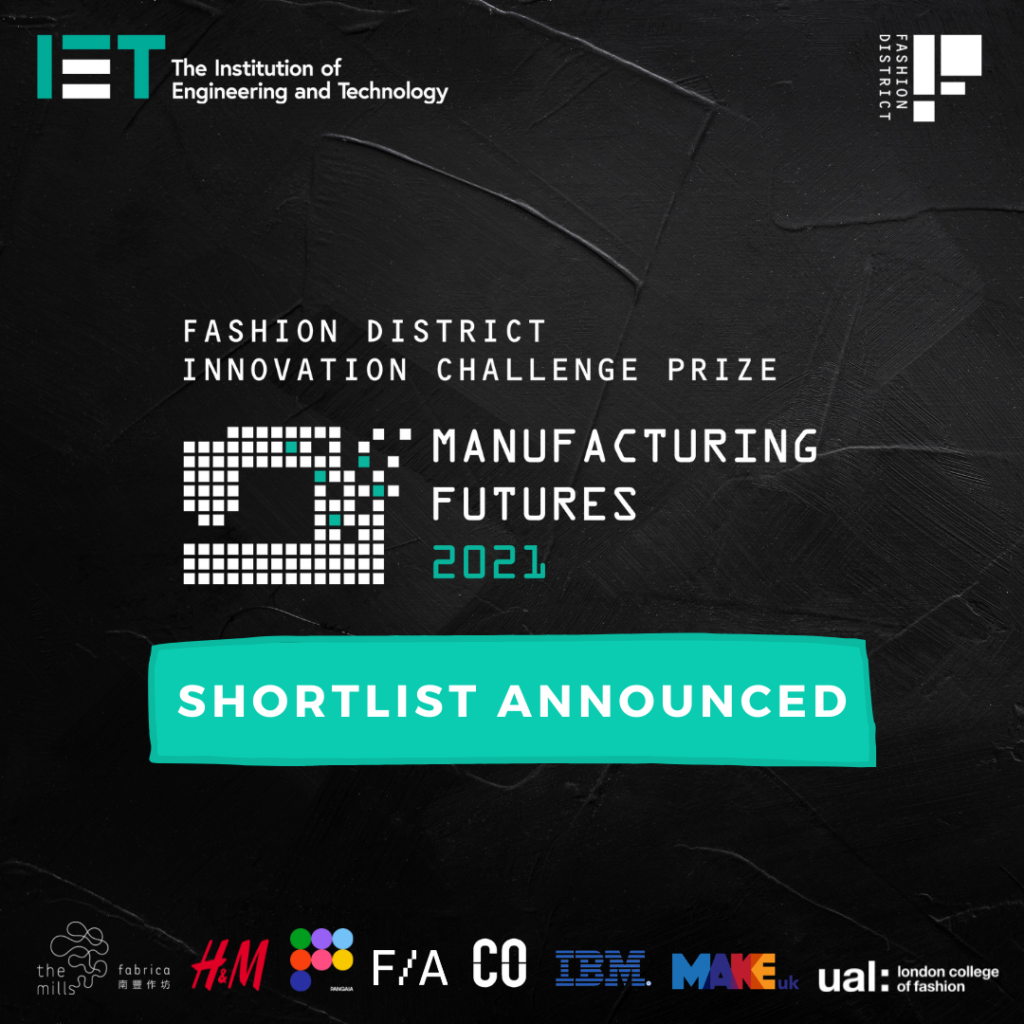 Meet the Manufacturing Futures 2021 Shortlist